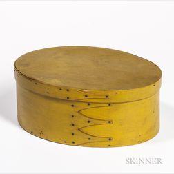 Shaker Yellow-painted Pantry Box