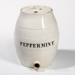 Pearlware Barrel-form Cooler