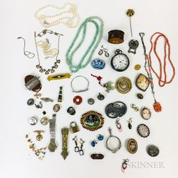 Group of Victorian and Antique Jewelry