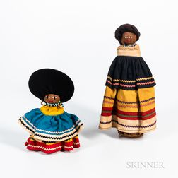 Two Seminole Dolls