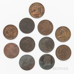 Eleven Half Cents