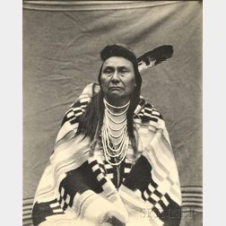 Five Photographs of American Indians