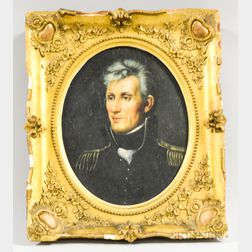 American School, 20th Century       Portrait of Andrew Jackson