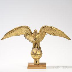Gilt Molded Copper Eagle