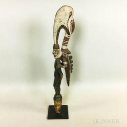 New Guinea Wood Flute Stopper