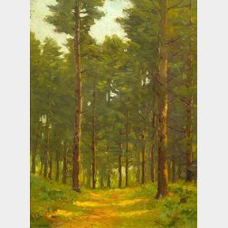 Charles Warren Eaton (American, 1857-1937)    The Wood Road