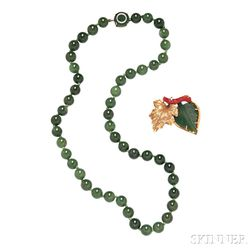 Two Jade Items, Wedderien