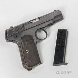 Colt Model 1903 Pocket Hammerless Semiautomatic Pistol