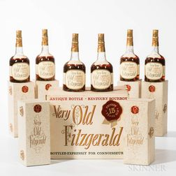 Very Very Old Fitzgerald 15 Years Old 1955, 6 4/5 quart bottles (oc)