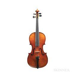 American Seven-eighth Size Violin, Willibald Conrad Stenger, Chicago, 1944