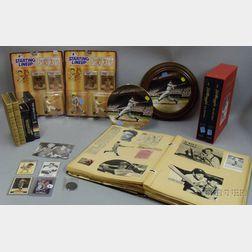 Joe DiMaggio 1940s-1999 Scrapbook and Collectibles