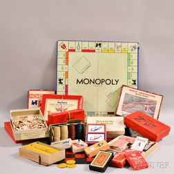 Group of Vintage and Antiques Puzzles and Games