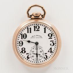 Illinois Watch Co. Sixty-hour Bunn Special