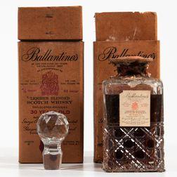 Ballantines 30 Years Old, 2 4/5 quart bottles (oc)