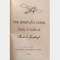 Lindbergh, Charles A., (1902-1974), Signed copy