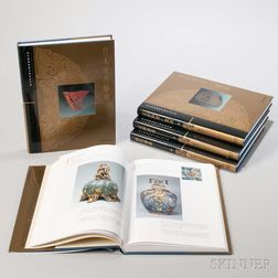 Five Volumes from the Complete Collection of the Treasures of the Palace Museum