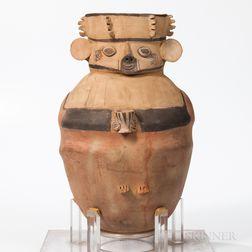 Large Chancay Amphora