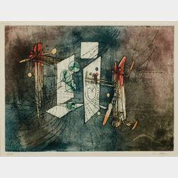 Roberto Matta (Chilean, 1911-2002)    Composition