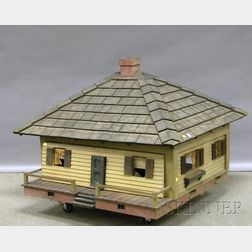 Arts & Crafts Custom Built Five-room Toy House