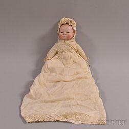 Grace S. Putnam Bye-Lo Baby Bisque Head Doll