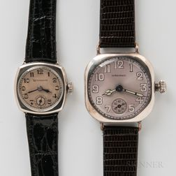 Longines and Wittnauer Manual-wind Wristwatches