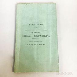 Pamphlet Describing the Clipper Ship Great Republic  .