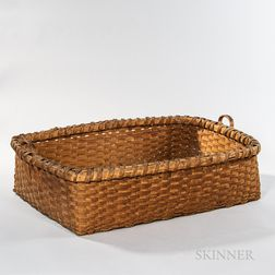 Large Rectangular Splint Basket