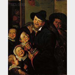 Follower of Frans Hals (Dutch, 1580-1666)      Rommel Pot Player