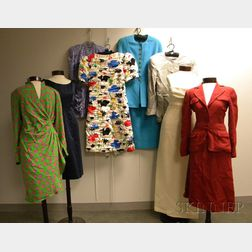 Group of Assorted Vintage Lady's Clothing
