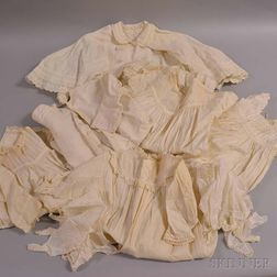 Large Group of Textiles