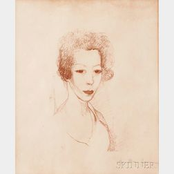 Marie Laurencin (French, 1883-1956)      Autoportrait