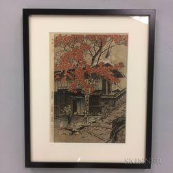 Kasamatsu Shiro (1898-1991), House at Ontake