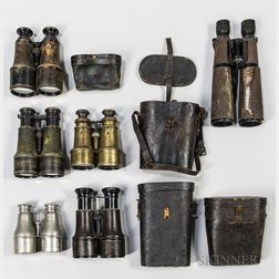 Group of Binoculars