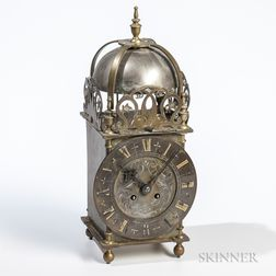 Gilt-bronze Lantern Clock