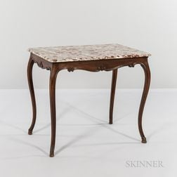 Louis XV-style Fruitwood Table