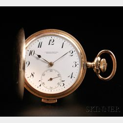 14kt Gold Hunter Case Quarter-hour-repeating Watch