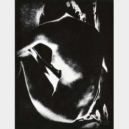 Manuel Komroff (American, 1890-1974)      Solarized Nude