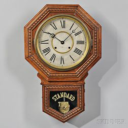 """Octagon """"Admiral"""" Eight-day Wall Clock"""