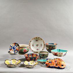 Twelve Pieces of Asian Export Porcelain