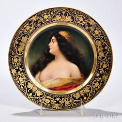 Vienna Porcelain Cabinet Plate