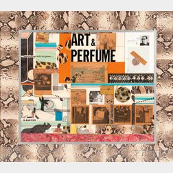 Richard Marshall Merkin (American, 1938-2009)    Art and Perfume #3