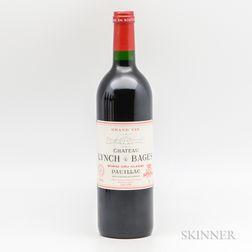 Chateau Lynch Bages 1996, 1 bottle