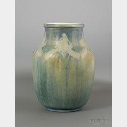 Newcomb College Iris Vase