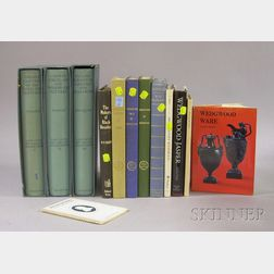 Twelve Assorted Wedgwood and Related Reference Books