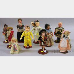 Ten Dolls