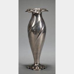 Gorham Martele Silver Vase