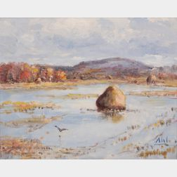 Henry Hammond Ahl (American, 1869-1953)      Marsh View