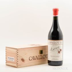 Cavallotto Barolo Riserva Bricco Boschis Vigna San Giuseppe 2001, 1 magnum
