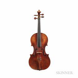 American Violin, D.E. Thomas, West Woodstock, 1898
