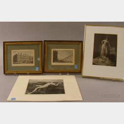 Four Works on Paper
